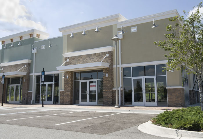 Image of commercial real estate buildings